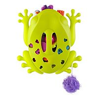 Boon Frog Pod Mini Bath Toy Storage