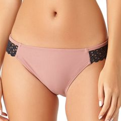 Juniors' California Sunshine Crochet Hipster Bikini Bottoms