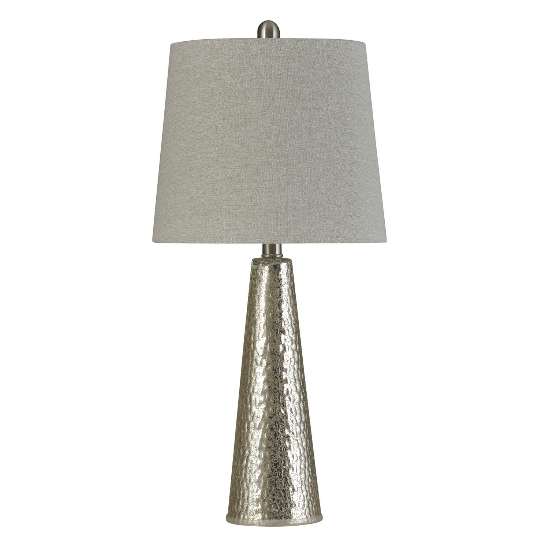Superbe Mercury Glass Table Lamp