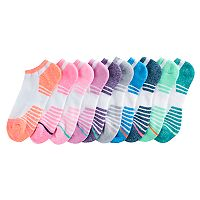 Women's Tek Gear® 10 pkCushioned No-Show Socks