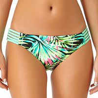 Juniors' California Sunshine Palm Party Hipster Bikini Bottoms