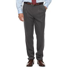 Big & Tall Chaps Classic-Fit Performance Pleated Dress Pants
