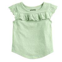 Baby Girl Jumping Beans® Flutter Sleeve Tee