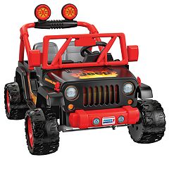 Power Wheels Tough Talking Jeep Wrangler