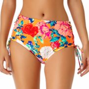 Juniors' California Sunshine High-Waisted Bikini Bottoms