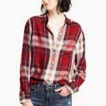 Women's Levi's® Plaid Boyfriend Shirt