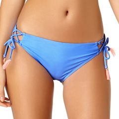 Juniors' California Sunshine Side-Tie Hipster Bikini Bottoms