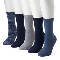 Women's SONOMA Goods for Life™ 5-pk. Textured Crew Socks