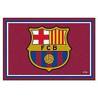 FANMATS FC Barcelona 5' x 8' Rug