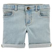 Girls 4-8 Carter's Denim Bermuda Shorts