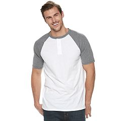 Big & Tall Urban Pipeline® Awesomely Soft Ultimate Regular-Fit Colorblock Henley