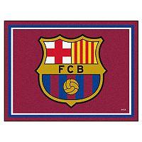 FANMATS FC Barcelona 8' x 10' Rug