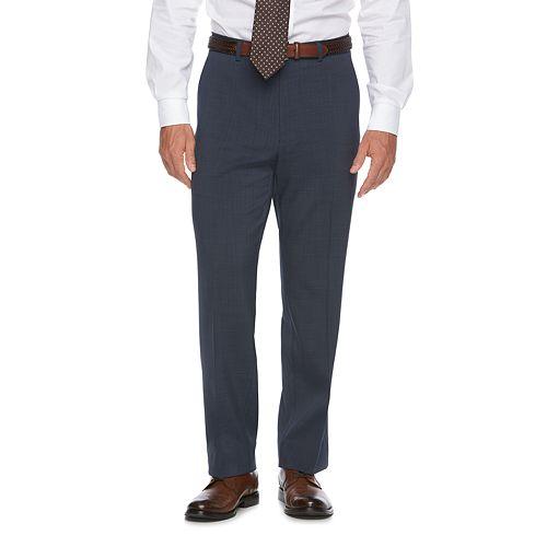 Big & Tall Chaps Classic-Fit Performance Flat-Front Dress Pants
