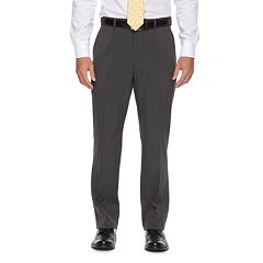 Big & Tall Chaps Classic-Fit Performance Flat-Front Dress Pants