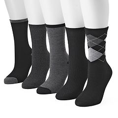 Women's SONOMA Goods for Life™ 5-pk. Argyle Crew Socks