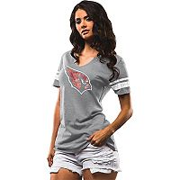 Women's Majestic Arizona Cardinals Go For Two Tee