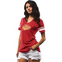 Women's Majestic Kansas City Chiefs Go For Two Tee