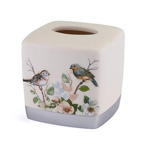 Avanti Love Nest Bird Tissue Box Cover
