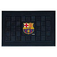 FANMATS FC Barcelona Medallion Door Mat