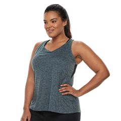 Plus Size Nike Dry Training Racerback Tank