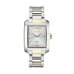 Seiko Men's Two Tone Solar Watch  - SNE463