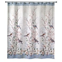 Avanti Love Nest Bird Shower Curtain