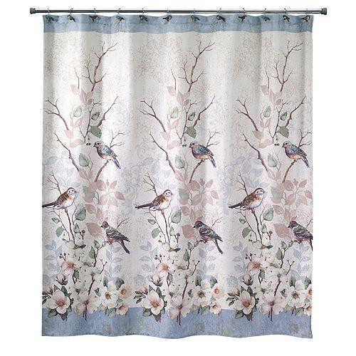 Avanti Love Nest Bird Shower Curtain