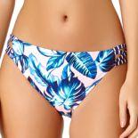 Juniors' California Sunshine Side Strappy Hipster Bikini Bottoms