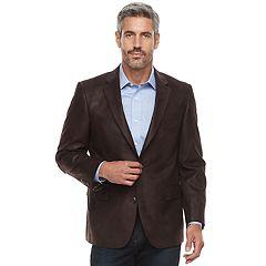 Men's Jean-Paul Germain Classic-Fit Faux-Leather Sport Coat