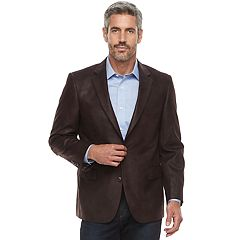 Big & Tall Jean-Paul Germain Classic-Fit Faux-Leather Sport Coat