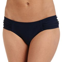 Women's Cyn and Luca Shirred Scoop Bikini Bottoms
