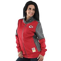 Women's Majestic Kansas City Chiefs Speedy Fly Jacket