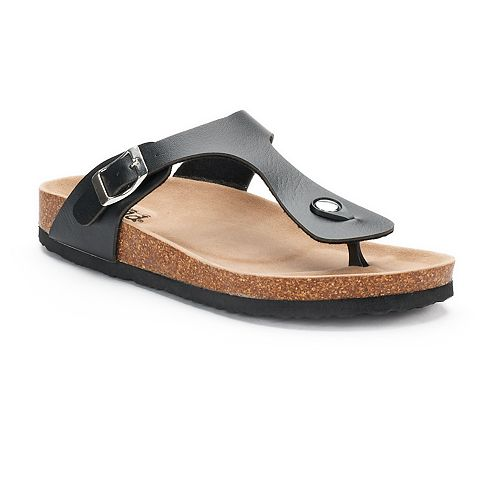 6e499b275ca Women s Mudd® Buckle Thong Sandals