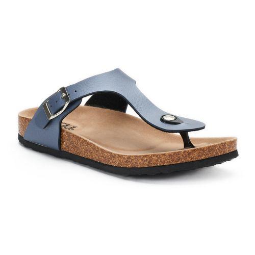 Women's Mudd® Buckle Thong ... Sandals