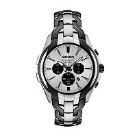 Seiko Men's Two Tone Chronograph Solar Watch - SSC635
