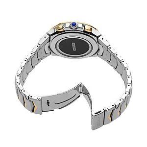 Seiko Men's Coutura Two Tone Stainless Steel Radio Sync Solar Watch - SSG020