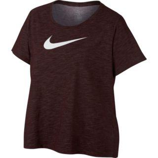 Plus Size Nike Swoosh Short Sleeve Graphic Tee