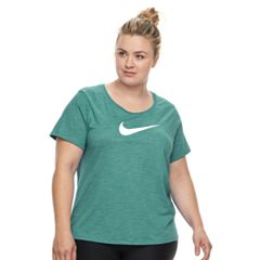 Plus Size Nike Swoosh Short Sleeve Graphic Tee