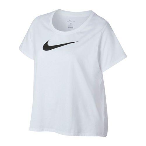 953d1675 Plus Size Nike Swoosh Short Sleeve Graphic Tee