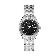 Bulova Men's Classic Stainless Steel Watch - 96B265