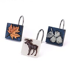 Avanti Lakeville Shower Curtain Hooks