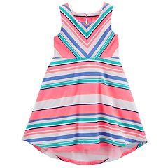 Girls 4-8 Carter's Striped Dress