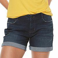 Women's Apt. 9® Cuffed Jean Shorts