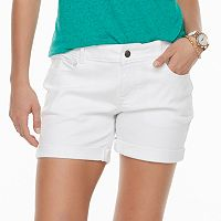 Women's Apt. 9® Cuffed Jean Shorts