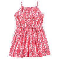 Girls 4-8 Carter's Floral Print Dress