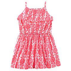 Girls 4-8 Carter's Floral Print Dress