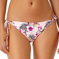 Juniors' California Sunshine Floral Hipster Bikini Bottoms