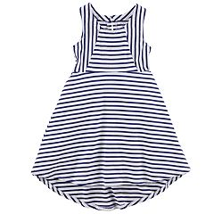 Girls 4-8 Carter's Navy Striped Dress
