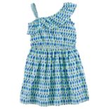 Girls 4-8 Carter's Asymmetrical Abstract Print Dress