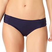 Women's Cole of California Shirred Bikini Bottoms